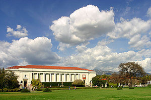 """""""Huntington Library, in a landscape setting by Beatrix Farrand."""" Image courtesy of Wikipedia."""